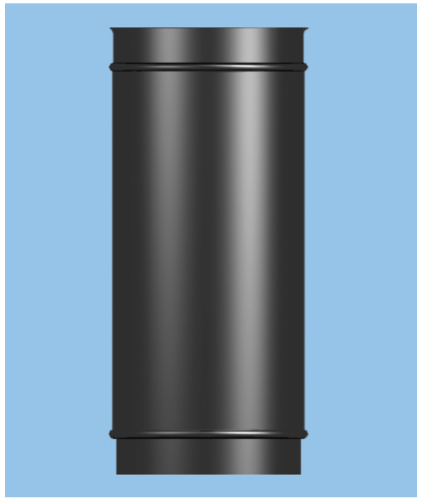 Stove Pipe Adjustable 500mm