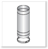 Single Wall (Single Skin) Stainless Steel Flue, Pipes